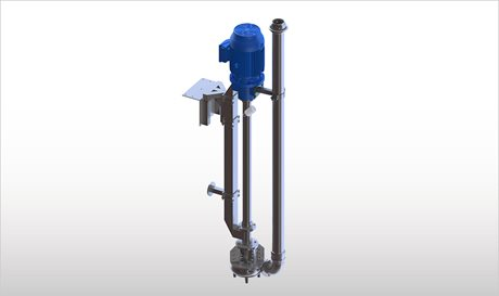 VPH - Vertical Long-Shaft Chopper Pumps with Electric Motor